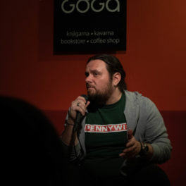 Marko Vidojković – Goga, Novo mesto, 26. 3. 2019