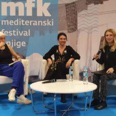 Anja Golob – Mediteranski festival knjige, Split, May 2019